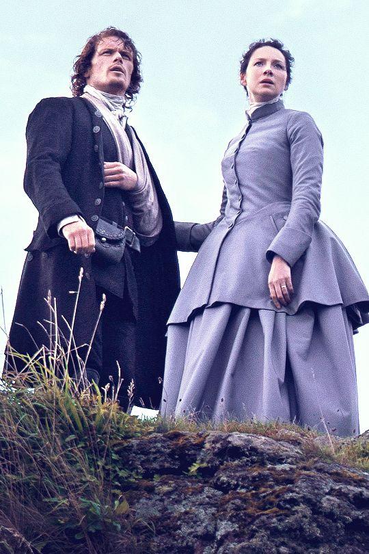 "Jamie (Sam Heughan) & Claire (Caitriona Balfe) | 'Outlander' S03E08 ""First Wife"""