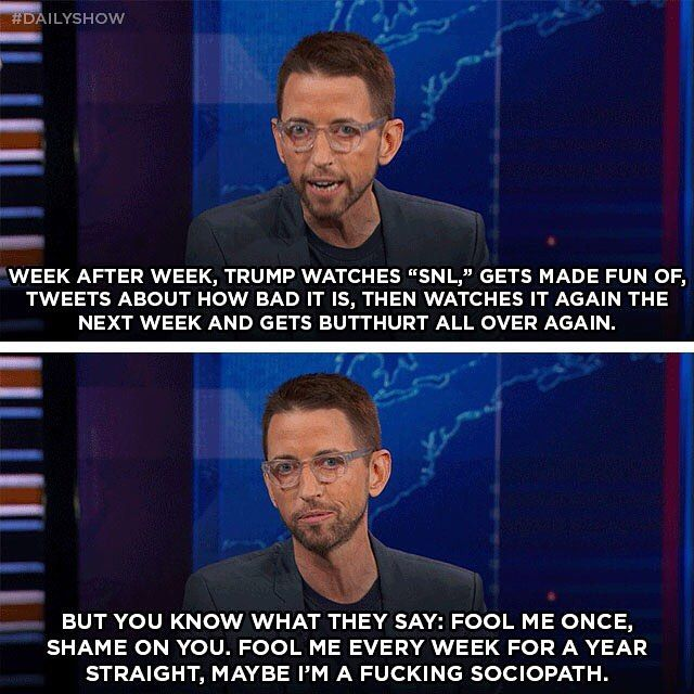 Neal Brennan on why Trump is the ultimate snowflake.