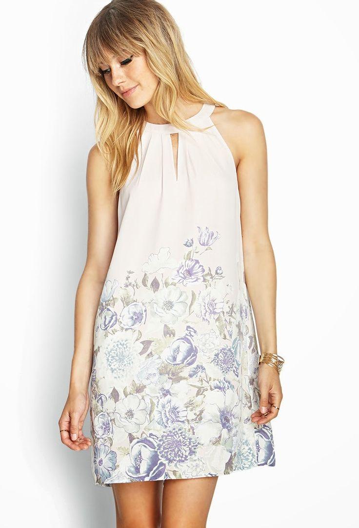 Style Fuel: Vestido floreado de Forever 21
