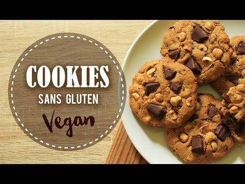 COOKIES || Sans Oeuf, Sans Lait, Sans Huile, Sans GLUTEN ( Vegan ) - YouTube