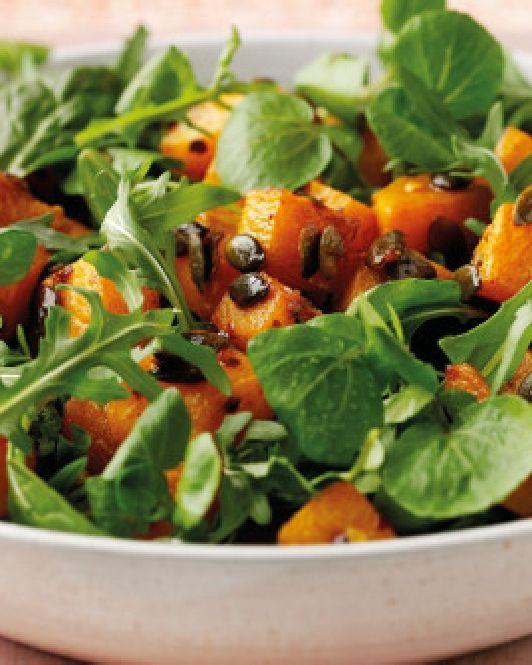 Low FODMAP Spicy Pumpkin salad   http://www.ibssano.com/low_fodmap_recipes_spicy_squash_salad.html    Update