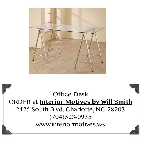 ORDER at Interior Motives by Will Smith 2425 South Blvd. Charlotte, NC ...