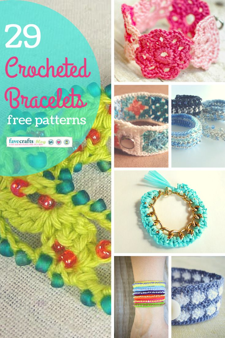 258 best diy jewelry images on pinterest all things crochet 29 crocheted bracelets bankloansurffo Images