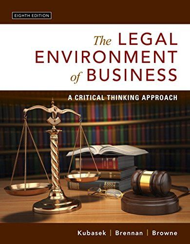 18686 best products images on pinterest books book and libri the legal environment of business a critical thinking approach 8th edition fandeluxe Gallery