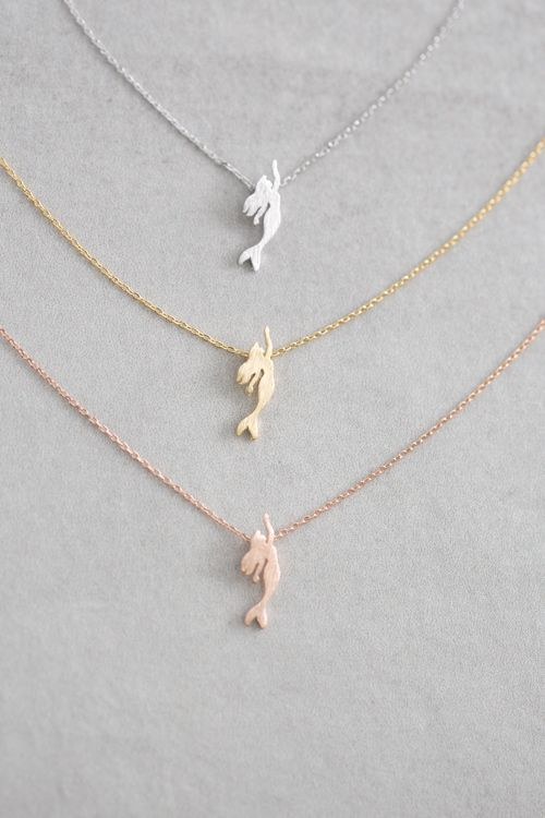 Lovoda - Mermaid Necklace, $15.00 (http://www.lovoda.com/mermaid-necklace/)