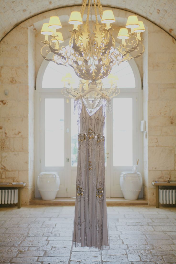 Styling & Planning: The Wedding Care - Photographers: Purewhite Photography.  Wedding Dress Jenny Packham Read  Location Masseria Traetta More on SMP: http://stylemepretty.com/vault/gallery/75447
