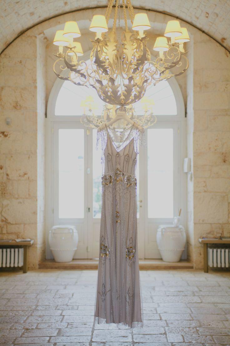 Styling & Planning: The Wedding Care - Photographers: Purewhite Photography.  Wedding Dress Jenny Packham Read  Location Masseria Traetta More on SMP: http://stylemepretty.com/vault/gallery/75447