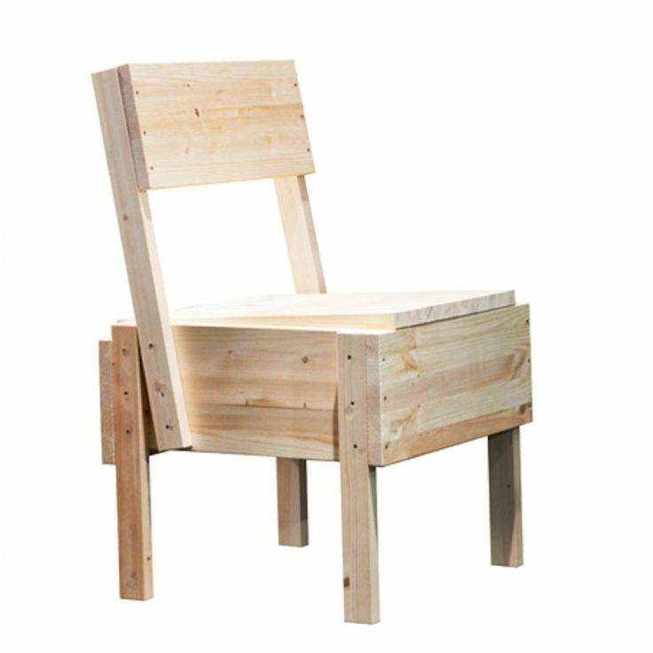 Sedia 1 Chair   Enzo Mari 1974   Now Artek