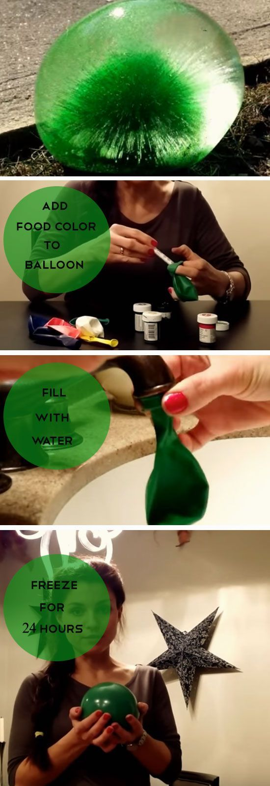 25 best ideas about frozen water balloons on pinterest