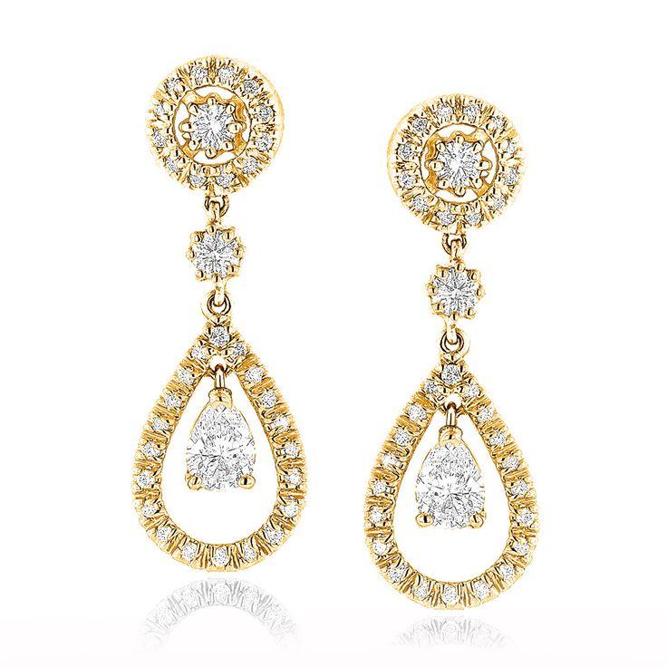 Best 25+ Diamond earrings for women ideas on Pinterest | Diamond ...