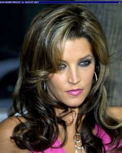 Looks just like her dad but has her moms eyes....great pic ♥ Lisa Marie Presley