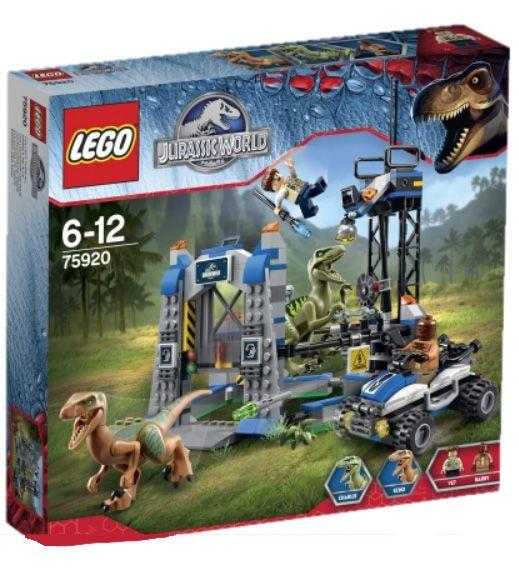 LEGO Jurassic World Raptor Escape 75920 Summer 2015 Set