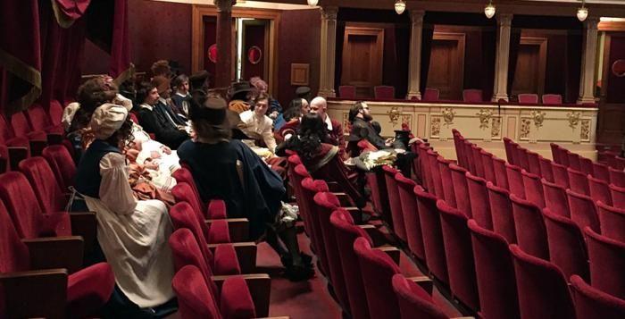 Natáčení velkofilmu Edmond ve Velkém divadle jede na plné obrátky