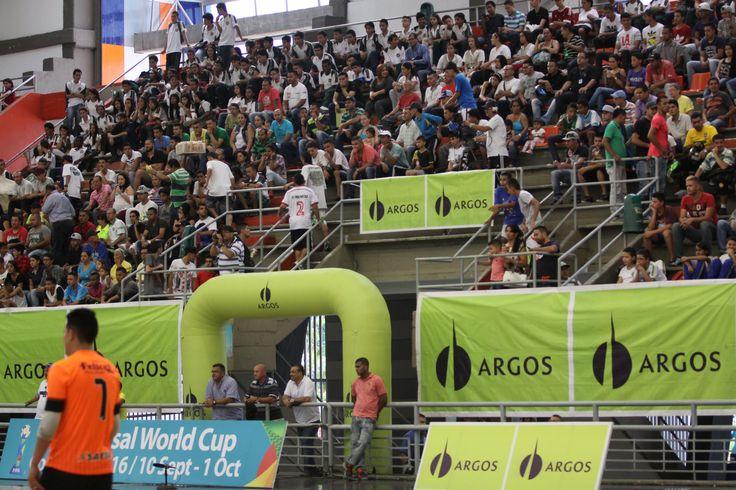 Este fue el marco de la semifinal de la Liga Argos Futsal entre Deportivo Lyon y Real Bucaramanga.