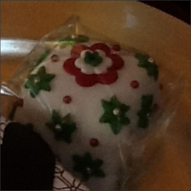 Mini Christmas cake 3