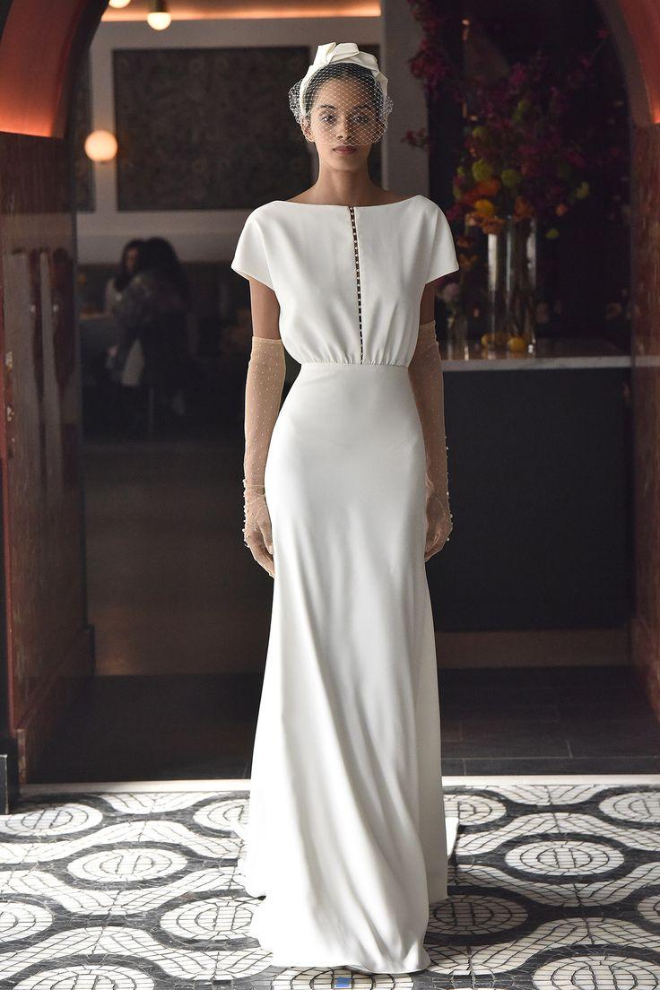 #Sencillez hecha vestido de #novia - Lela Rose Spring 2018
