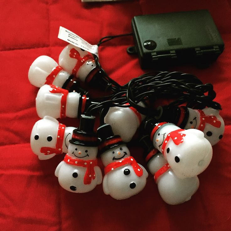 Regalo di Natale: Led a pupazzo di neve ⛄️☃️