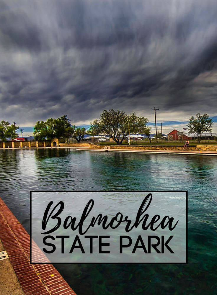 Balmorhea State Park is the world's largest spring-fed pool | #texas #travel