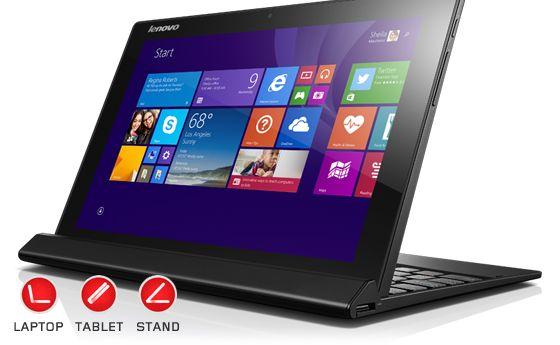 Lenovo tampaknya juga tak mau kalah menciptakan produk semacam itu. Beberapa waktu lalu perusahaan ini memperkenalkan produk laptop terbaru bernama Lenovo MIIX 3.