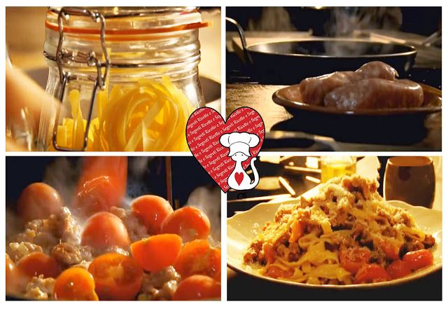 Ricette e Segreti in Cucina : Pasta al ragù di salsiccia Ricetta veloce