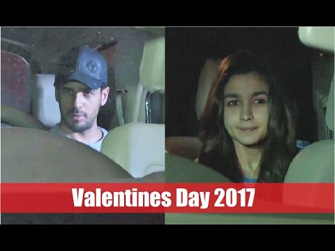 SPOTTED ! Sidharth Malhotra & Alia Bhatt on Valentines Day 2017.  Click here to see full video > https://youtu.be/4ybIpTtt6zo  #aliabhatt #sidharthmalhotra #valentinesday2017 #bollywood #bollywoodnews #bollywoodnewsvilla