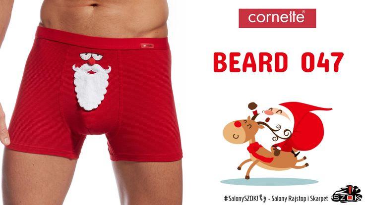 🔴 Szybkim pędem wyprzedzając nawet #Rudolfa wjechały na Nasze ##SalonySZOK!👣 #świąteczne #bokserki z #kultowym #motywem #Mikołaja! Wszystkich niecierpliwych zapraszamy po #Beard firmy #Cornette! 🎄🎁⛄