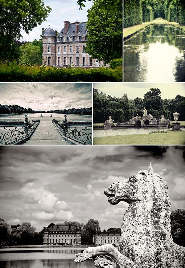The Chateau de Beloeil in Hainaut, Belgium