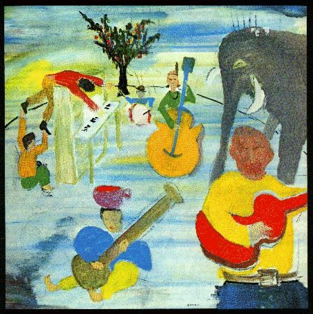 The Band - Music from Big Pink ... Art by: Bob Dylan