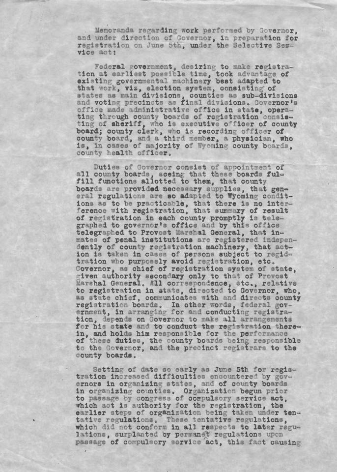 19 best Wyoming At War images on Pinterest Army national guard - selective service registration form