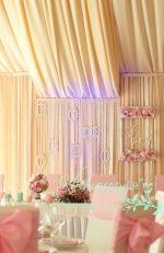 Оформление президиума ::: альбом Оформление свадьбы в мятно-розовых тонах ::: МАРКЕТ » Свадебные услуги / фото 25974971 800 x 533 io.ua