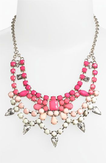 Stephan & Co. Ombré Statement Necklace | Nordstrom  to go with bridesmaid dress