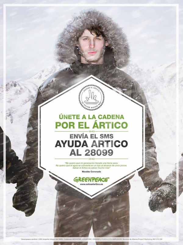 Save the Arctic - Greenpeace