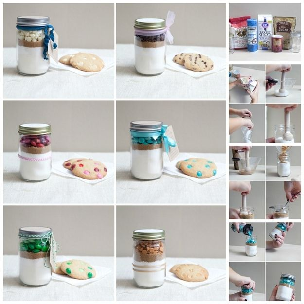 18. Cookie Mix In a Jar. Everyone is gettin gthis for christmas