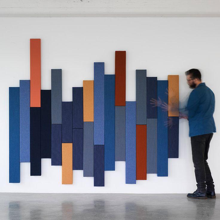 Project Meubilair | Zilenzio Timber akoestische muur panelen