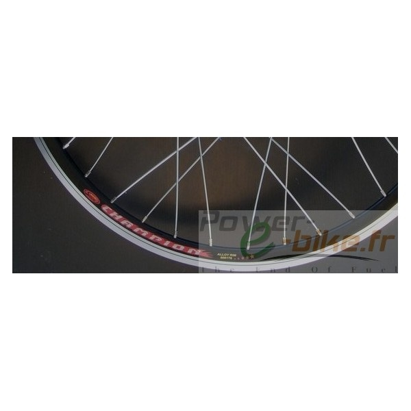 JANTE 28 POUCE DOUBLE PAROI 6060  Vendu sans rayon  La roue arrière 28 pouces double paroi est idéale pour remplacer votre roue simple paroi fragile.