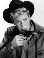 OVERLAND TRAIL (NBC-TV) - Doug McClure as Frank 'Flip' Flippen, co-starred with veteran Hollywood actor William Bendix in the short-lived series.
