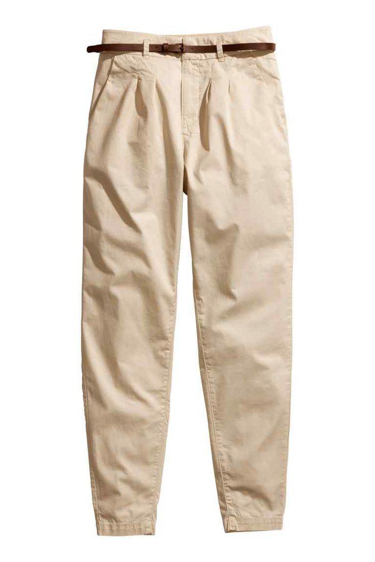 Pantaloni chino, talie înaltă | H&M