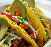 Gluten-Free Tacos with Avocado