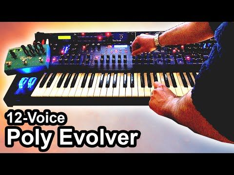 MATRIXSYNTH: DSI POLY EVOLVER (12 Voices) + Strymon BIG SKY - Ambient Chillout Music 【SYNTH DEMO】