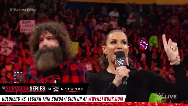 """You are the best of the best. You are the greatest Superstars in WWE today!"" - WWE Raw Commissioner Stephanie McMahon - WWE, to her brand's Survivor Series competitors."