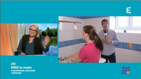 WebBuzz du 02/11/2017: Massage en direct sur une chaîne française-Massage at french tv