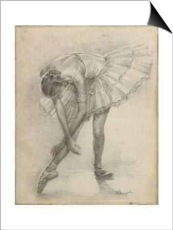 Fine Art Print – Young Female Ballerina par Assaf Frank Photographie, 16 x 21
