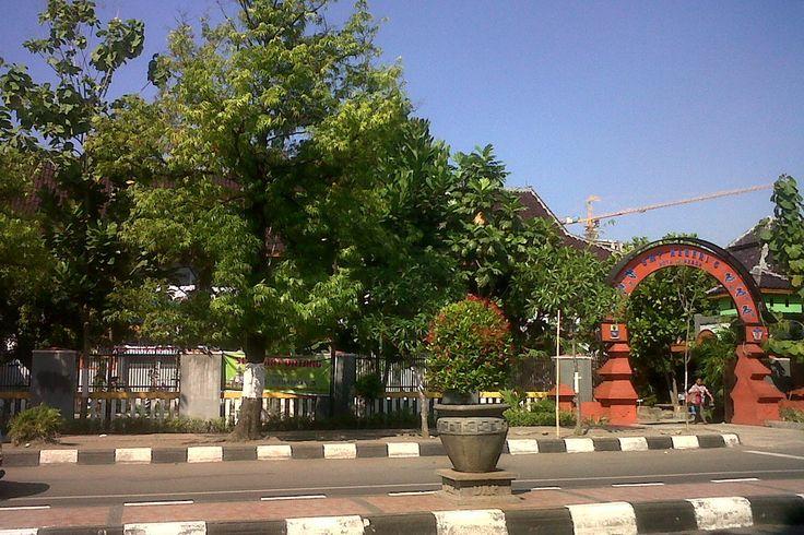 SMPN 5 Cirebon Jalan dr Wahidin Sudirohusodo, Kota Cirebon, Jawa Barat, Indonesia. photo cp 19 Juli 2014