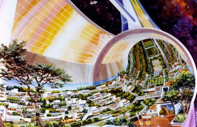 That Time Congress Considered Building Cities In Space