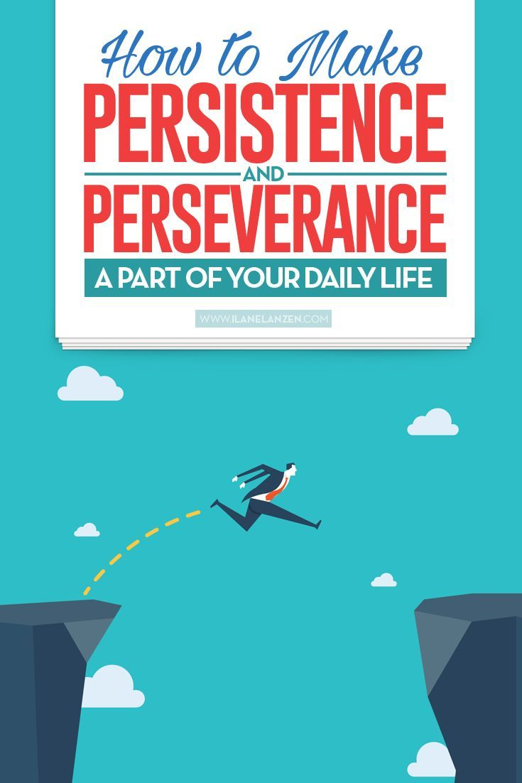 Getting into the habit of giving up when difficulties or obstacles arise is easy. You start something new and exciting, you face an obstacle, you give up, and the circle starts again. Common excuses help you move through this circle of failure with ease   http://www.ilanelanzen.com/personaldevelopment/how-to-make-persistence-and-perseverance-a-part-of-your-daily-life/
