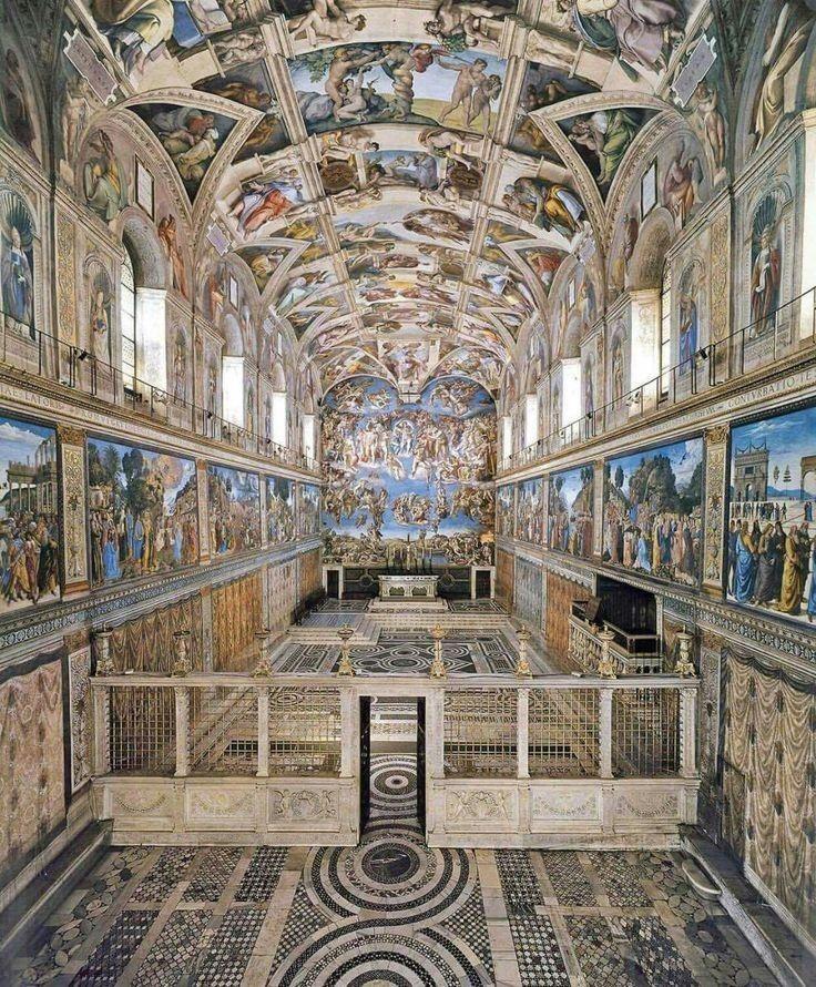 La Cappella Sistina, inestimabile patrimonio dell'umanità