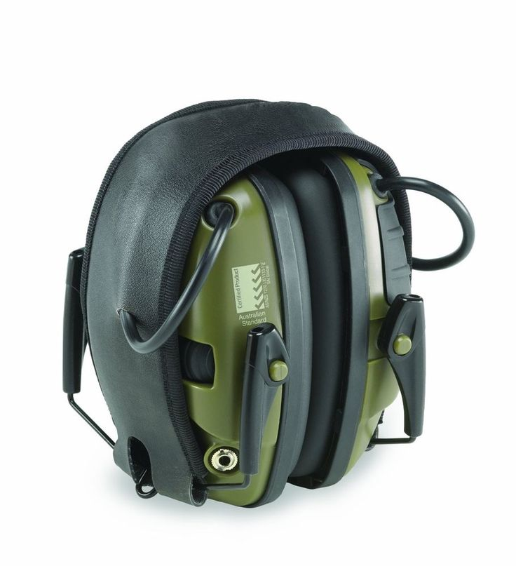 Howard Light Impact Sport Electronic Earmuff For Shooting Ear Protection Sleek #HowardLeight