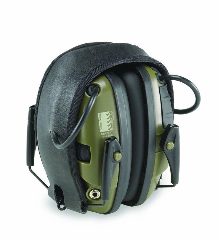 Howard Light Impact Sport Electronic Earmuff For Shooting Ear Protection Sleek #HowardLeight