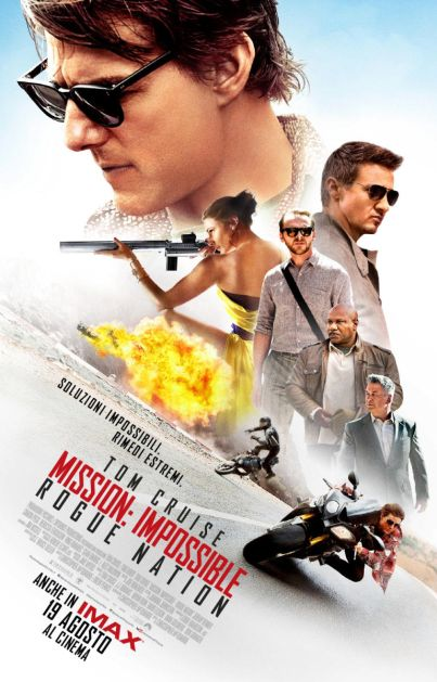 Torna Mission Impossible con Tom Cruise...  Mission: Impossible Rogue Nation (#film, #azione)  dal 19 agosto 2015 al #cinema ... #trailer