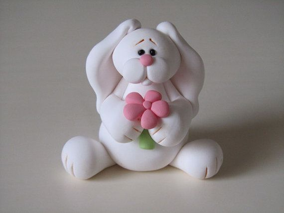 *POLYMER CLAY ~ Easter Bunny